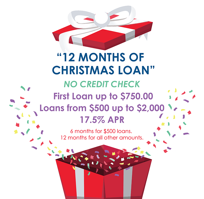12 Months of Christmas Loan